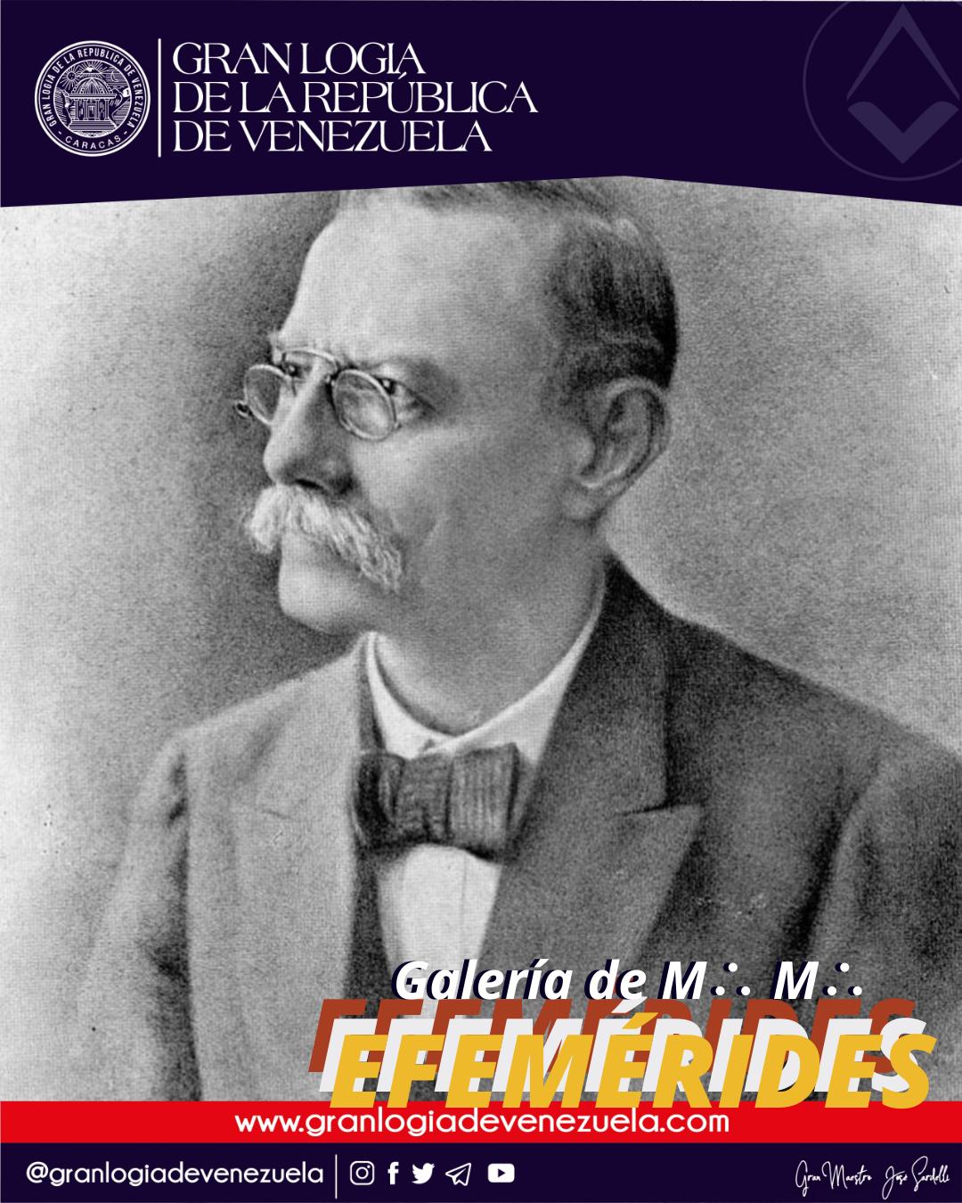 A L∴ G∴ D∴ G∴ A∴ D∴ U∴S∴ F∴ U∴ / Neurosis de hombres célebres de Venezuela / Q∴ H∴ Lisandro Alvarado.
